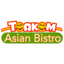 Toakom Asian Bistro Menu