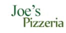 Joe's Pizzeria Menu