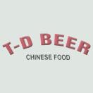 TD Beer & Chinese Food Menu