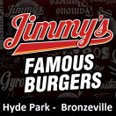 Jimmy's Famous Burgers Menu