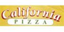 California Pizza Menu