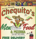 Chequito's Mexican food and pizzeria Menu