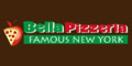 Bella Pizza Menu