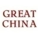 Great China Menu