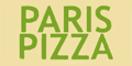 Paris Pizza Menu