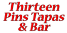 Thirteen Pins Tapas & Bar Menu