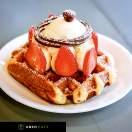 Little Gem Belgian Waffles Menu