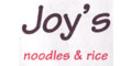Joy's Noodles and Rice Menu