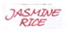 Jasmine Rice Menu