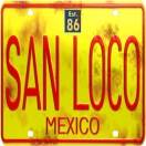 San Loco Menu