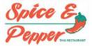 Spice and Pepper Menu