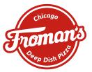 Froman's Chicago Deep Dish Pizza Menu
