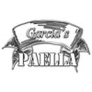 Garcia Paella Menu