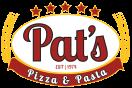 Pat's Pizza & Pasta - Ridley Menu