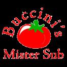 Buccini's Mister Sub Menu