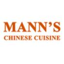 Mann's Chinese Cuisine Menu
