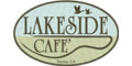 Lakeside Cafe Menu