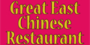Great East Chinese Restaurant Menu