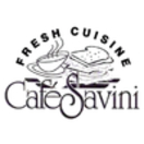 Cafe Savini Menu
