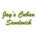 Jay's Cuban Sandwich Menu