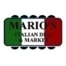Mario's Italian Deli & Catering Menu
