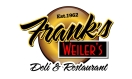 Frank's Weiler's Deli Menu