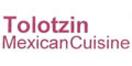 Tolotzin Mexican Cuisine Menu