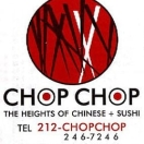 Chop Chop Asian Restaurant Menu