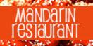Mandarin Chinese & Japanese Cuisine Menu