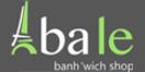 Ba Le Banh'wich Shop Menu