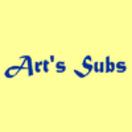Art's Subs Menu