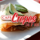 Cafe Crepes de Paris Menu