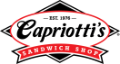 Capriotti's Sandwich Shop Menu