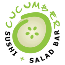 Cucumber Sushi and Salad Bar Menu