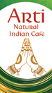 Arti Natural Indian Cafe Menu