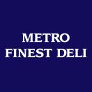 Metro Finest Deli Menu