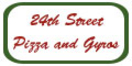 24th Street Pizza and Gyros Menu