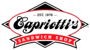 Capriotti's Sandwich Shop(Whittier) Menu