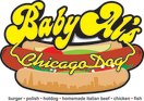 Baby AL's Chicago Dog Menu