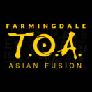 TOA Asian Fusion Menu
