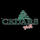 Cedars Grill Menu