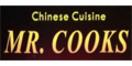 Mr. Cooks Chinese Cuisine Menu