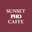 Sunset Pho Caffe Menu