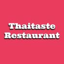 Thaitaste Restaurant Menu
