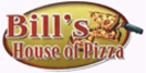 Bill's House of Pizza Menu
