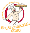 Pop's Sandwich Shop Menu