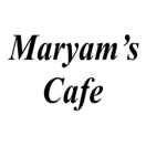 Maryam's Cafe Menu