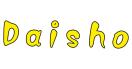 Daisho Sushi Menu
