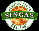 Singas Famous Pizza Menu