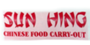 Sun Hing Chinese Food Menu